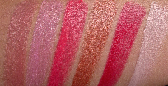 mac sheen supreme lipstick swatches without the flash