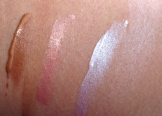 nars illuminator swatches super orgasm laguna copacabana with