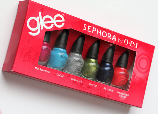 sephora glee collection box