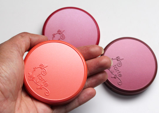 tarte amazonian clay blush packaging