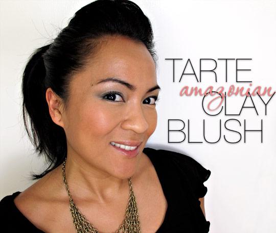 tarte amazonian clay blush tipsy k