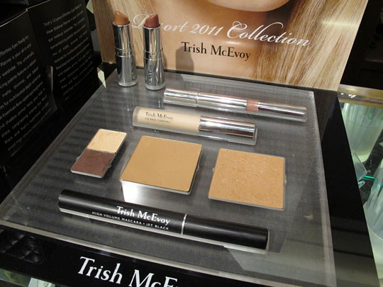 trish mcevoy resort collection display