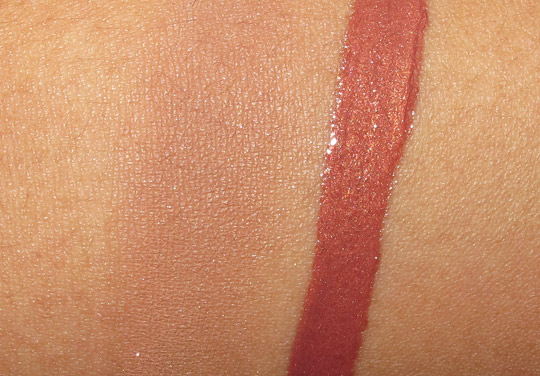 bareminerals faux & foxy swatches