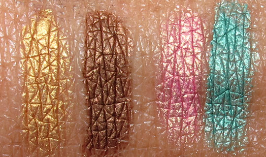 estee lauder bronze goddess 2011 swatches