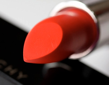 Givenchy Rouge Interdit Lipstick in Candide Tangerine