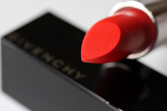 givenchy rouge inderdit lipstick in candide tangerine