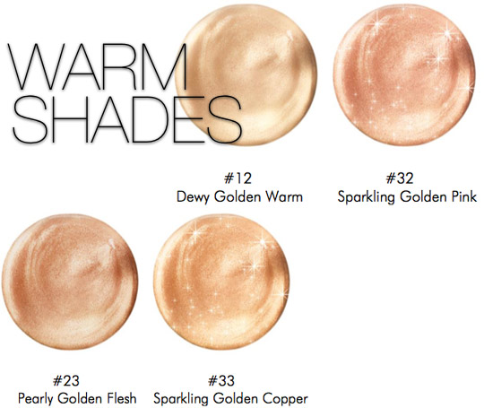 make up for ever uplift warm shades