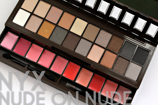 nyx nude on nude palette