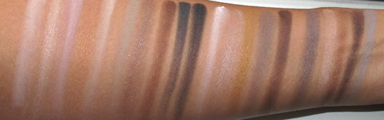 nyx nude on nude swatches with the flash