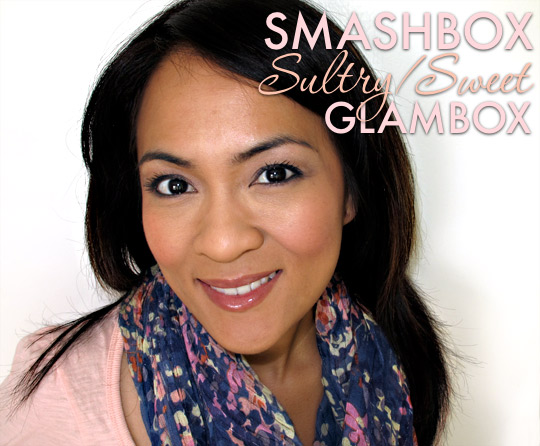 smashbox sultry sweet glambox