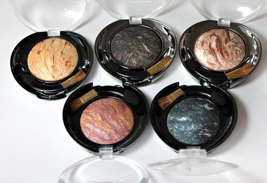Milani Baked Eyeshadows
