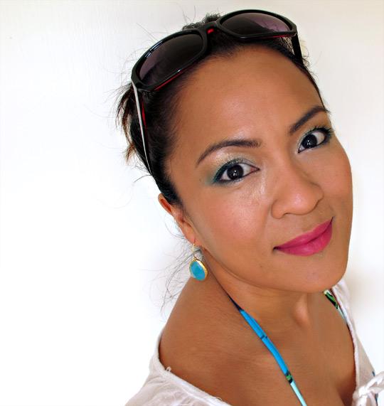 NARS Summer 2011 swatches carthage lipstick