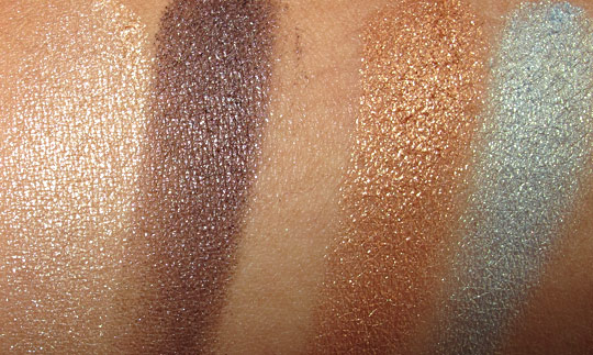 lorac hot off the red carpet eyeshadows