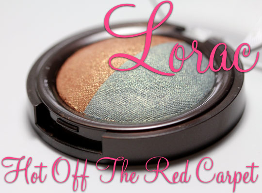 lorac hot off the red carpet