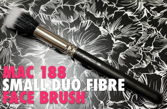 mac 188 small duo fibre face brush