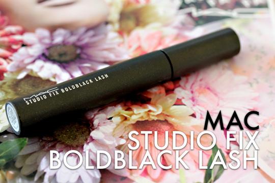 mac studiofix boldblack lash