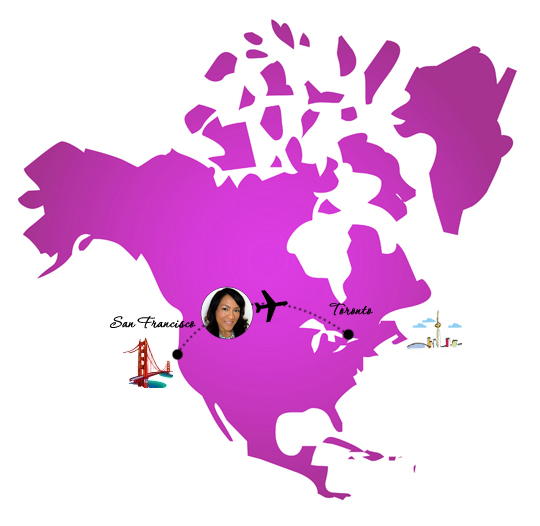 Makeup and Beauty Blog Heads to Toronto!