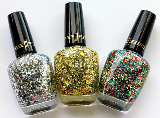 Milani Jewel FX Nail Polishes