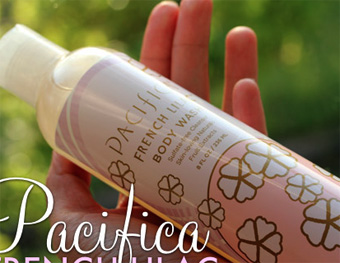 Pacifica French Lilac Body Wash