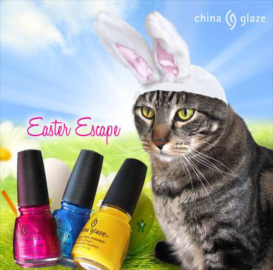 Tabs for China Glaze Easter Escape