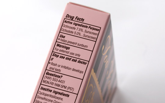 too faced bronzed beautiful french riviera active ingredients