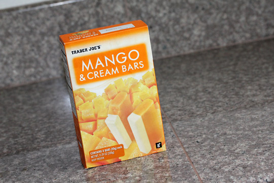 trader joes mango and cream bars