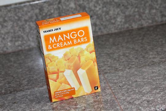 trader joes mango and cream bars