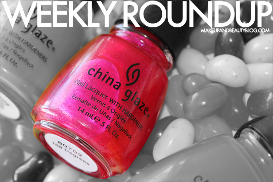 Makeup and Beauty Blog Weekly Roundup
