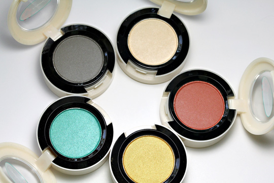 MAC Surf Baby eyeshadows