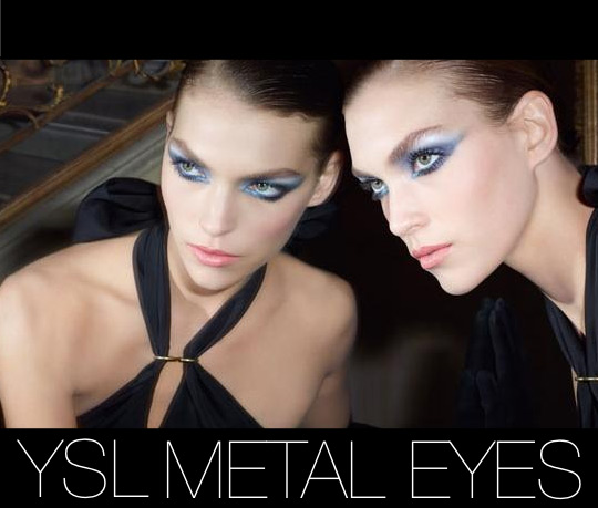 YSL metal eyes collection