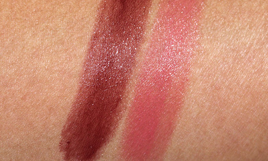 burberry lip mist swatches
