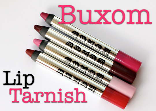 buxom lip tarnish review