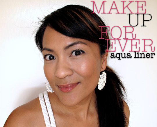 make up for ever aqua liner top