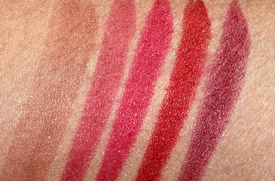 nyc new york color smooch proof lip stain swatches