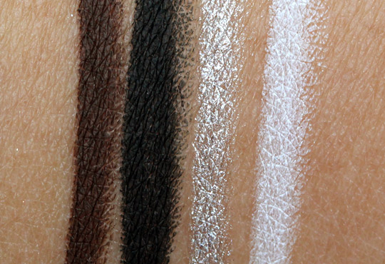 nyx slide on swatches swatches