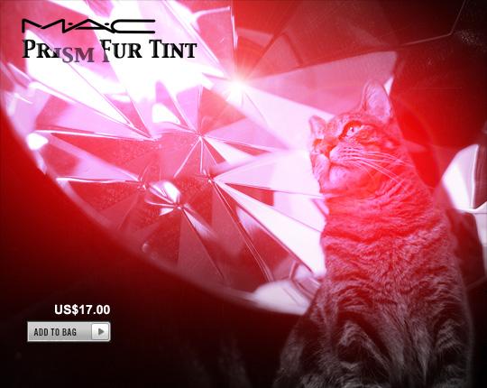 Tabs for MAC Prism Fur Tint