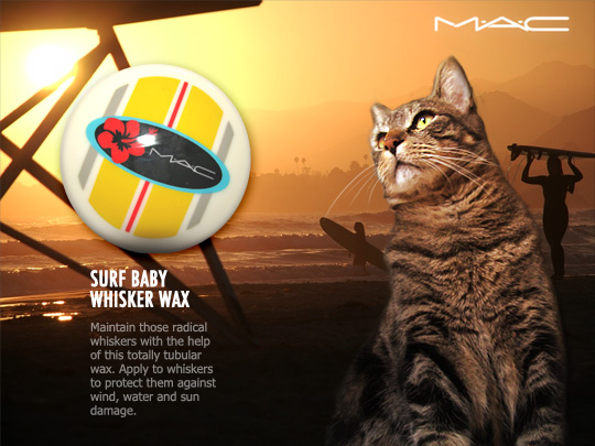 Tabs for MAC Surf Baby Whisker Wax