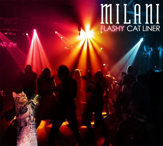 Tabs for Milani Cat Flash Liner