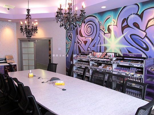 Welcome To The Offices Of Urban Decay Cosmetics Where
