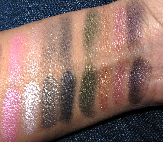 ysl metal eyes swatches
