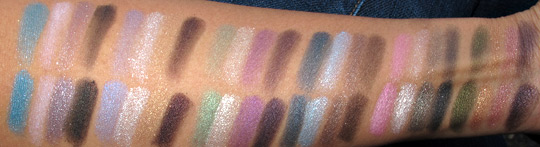 ysl metal eyes swatches with flash