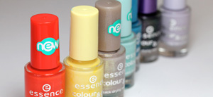 Essence Colour to Go Nail Polishes