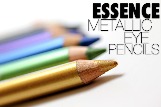 essence metallic eye pencils