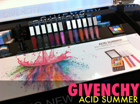 givenchy acid summer swatches