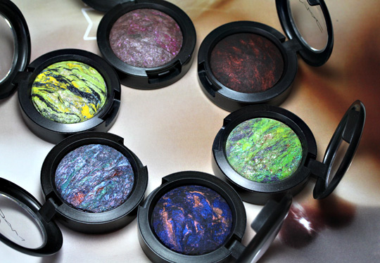 mac semi precious collection msf eyeshadows