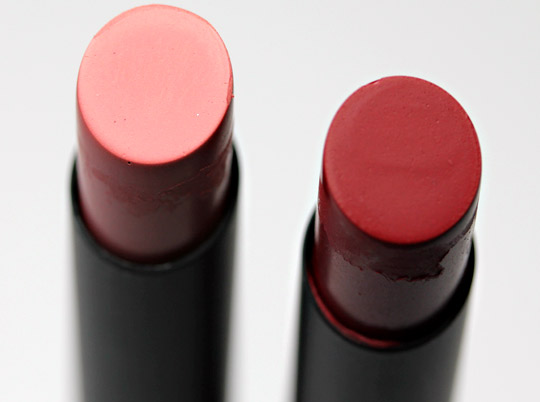 nars fall 2011 montego bay and mascate pure matte lipsticks