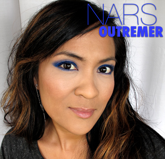 nars outremer single eyeshadow