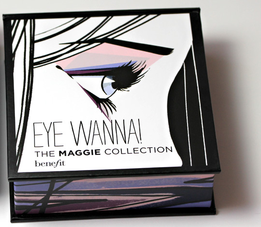 benefit eye wanna the maggie collection