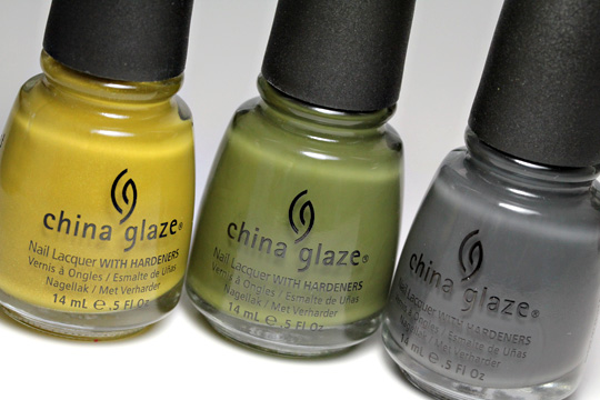 china glaze metro collection Trendsetter Westside Warrior Concrete Catwalk