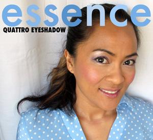 Essence Quattro Eyeshadow in XOXO
